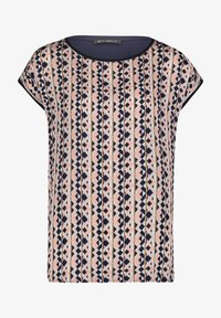 Betty Barclay - MIT PRINT - Blouse - dark blue/rosé - 3