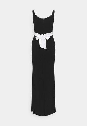 BARDOT BAND DRESS - Iltapuku - black