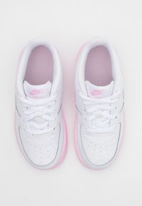 Nike Sportswear - AIR FORCE 1 BRICK - Trainers - white/pink - 3