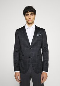 Lindbergh - CHECKED SUIT - Completo - black - 2