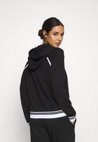 Calvin Klein Underwear - SOCK LOUNGE HOODIE - Pyjama top - black - 2