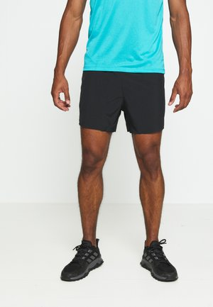 ESSENCE STRETCH - Träningsshorts - black
