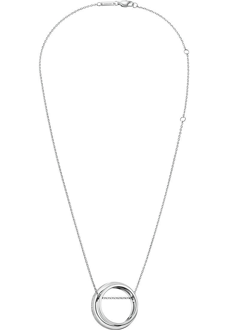 Calvin Klein - CALVIN KLEIN DAMEN-KETTE UNITE EDELSTAHL - Necklace - silber