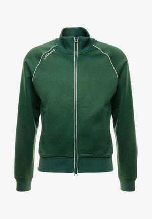 SH8150-00 - Mikina na zip - green