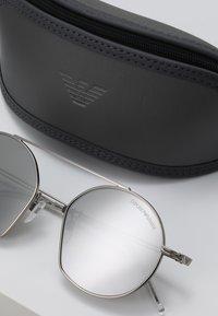 Emporio Armani - Sunglasses - matte silver-coloured - 2