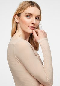 comma - Long sleeved top - champagner - 4
