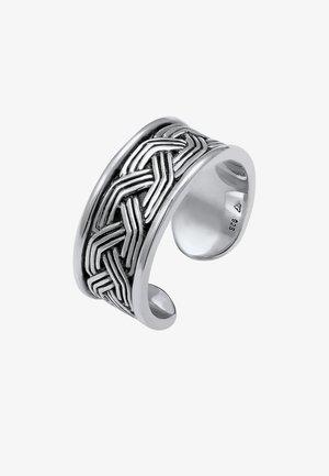 CHUNKY - Ring - silber