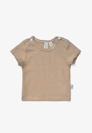ELTON - Print T-shirt - lemon curry