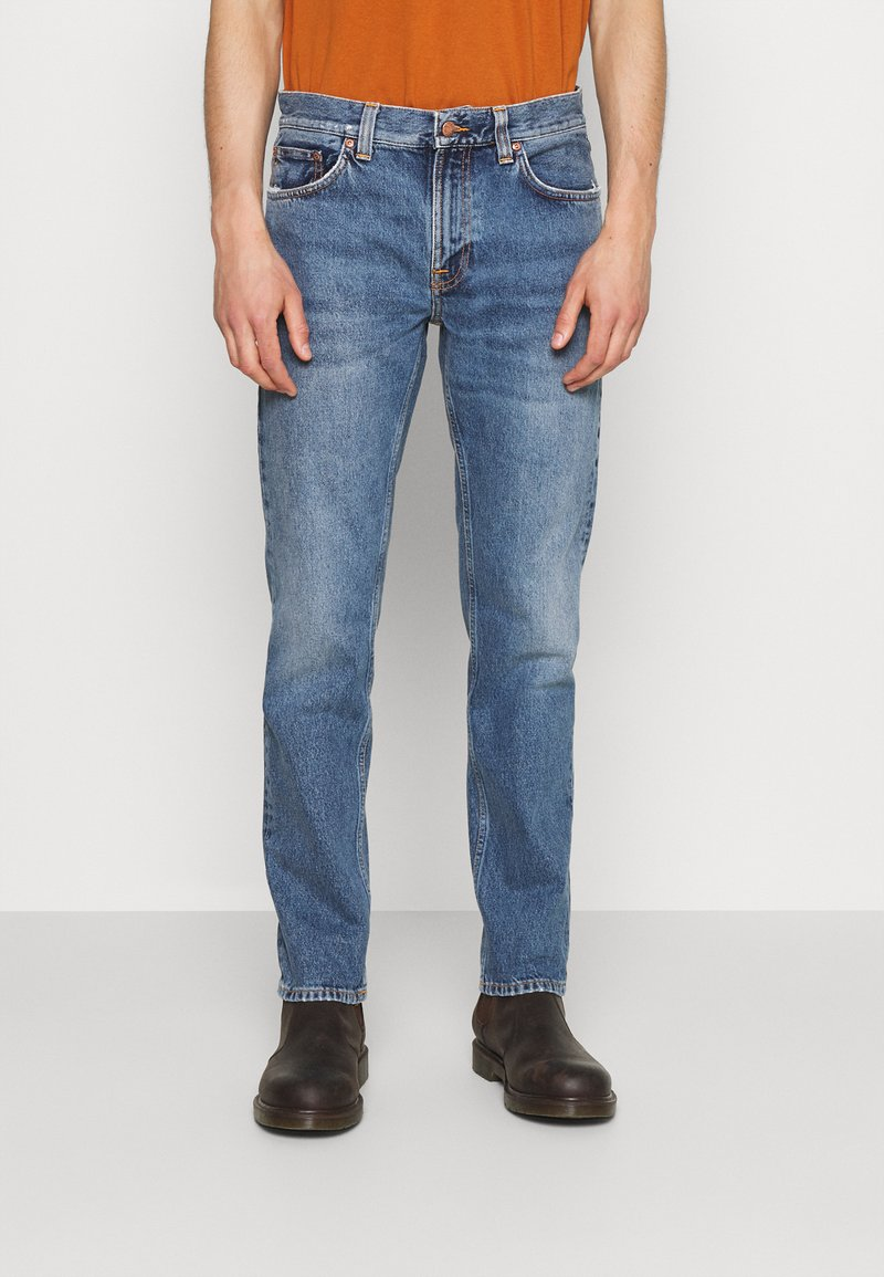 Nudie Jeans - GRITTY JACKSON - Straight leg -farkut - pure spring