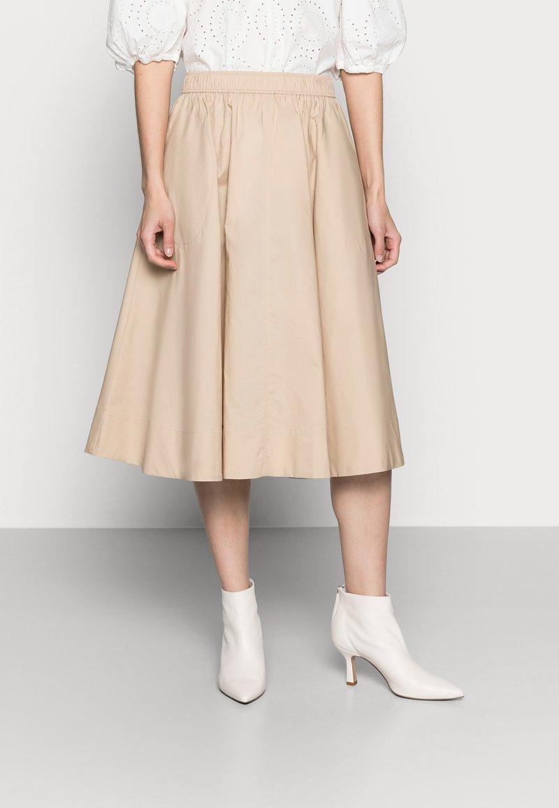 Part Two - INGA - A-line skirt - safari