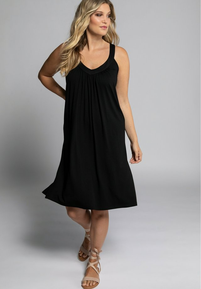Korte jurk - zwart