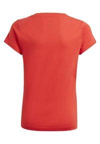adidas Performance - ADIDAS ESSENTIALS T-SHIRT - Print T-shirt - red - 1