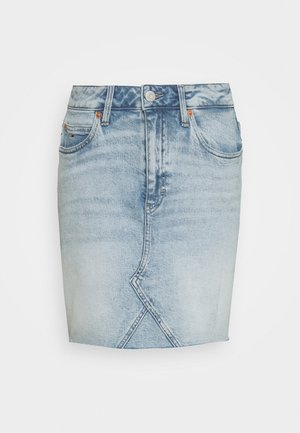 SHORT SKIRT - Jeansnederdel/ cowboy nederdele - cony light blue comfort