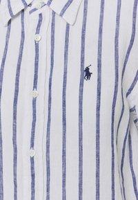 Polo Ralph Lauren - STRIPE LONG SLEEVE - Button-down blouse - white/blue - 6