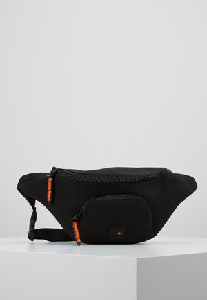 FULL MONTANA BUM BAG - Ledvinka - black