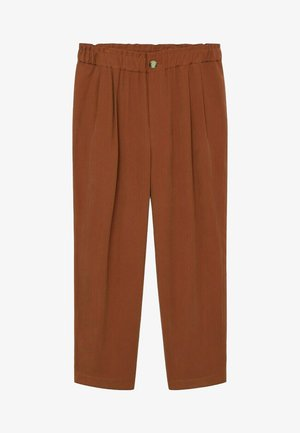 KENIA - Trousers - bräunliches orange