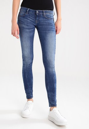 3301 LOW SUPER SKINNY - Jeans Skinny Fit - elto superstretch