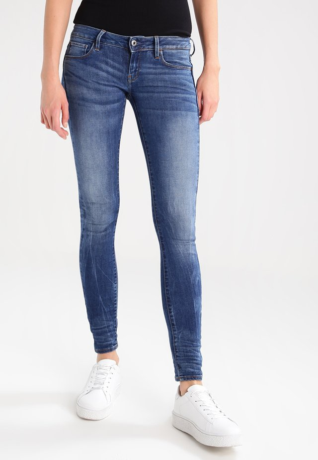 3301 LOW SKINNY  - Jeans Skinny Fit - elto superstretch