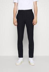 Bruuns Bazaar - CLEMENT CLARK PANT - Trousers - navy - 0