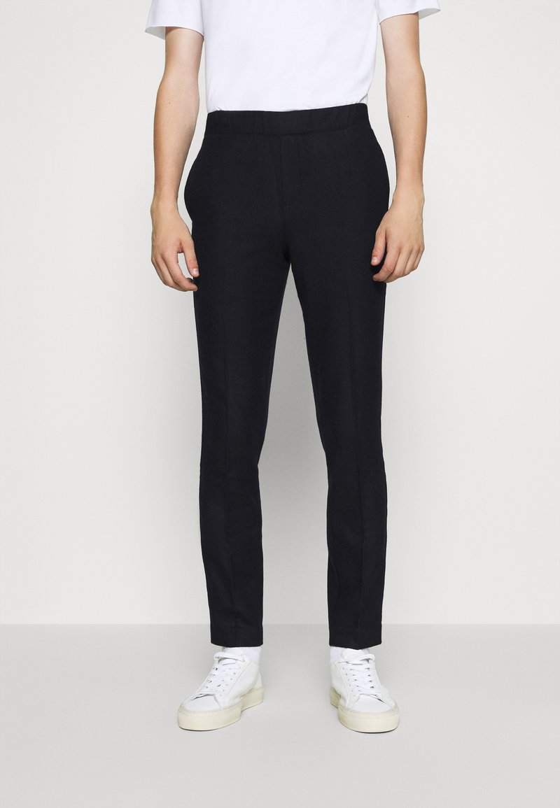 Bruuns Bazaar - CLEMENT CLARK PANT - Trousers - navy