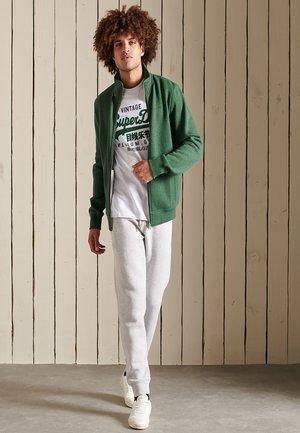 VINTAGE - Zip-up sweatshirt - heritage pine green marl