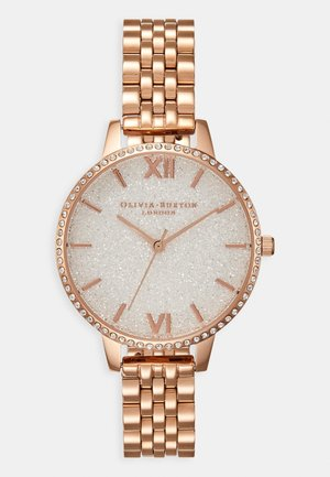 GLITTER DIAL - Reloj - roségold-coloured