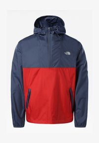 The North Face - M CYCLONE ANORAK - Windbreaker - vintage indigo/rococcored - 0