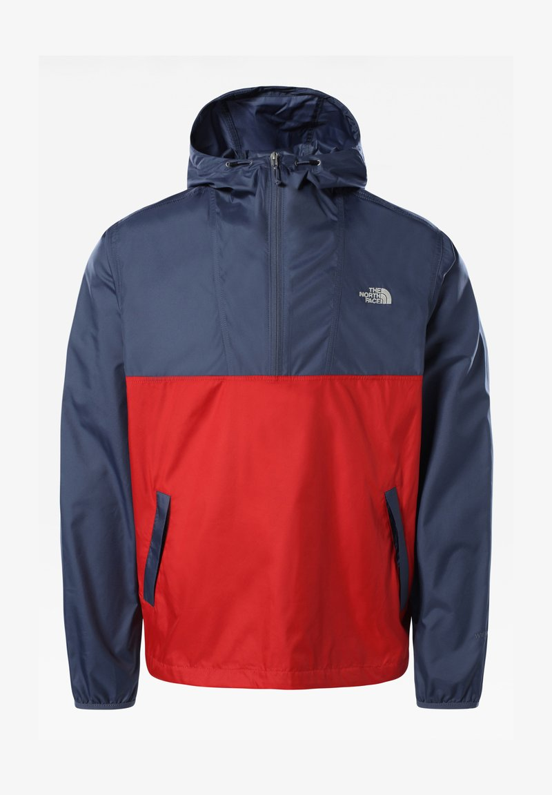 The North Face - M CYCLONE ANORAK - Windbreaker - vintage indigo/rococcored