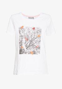 FRITORGA  - Print T-shirt - white/red