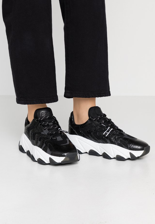 EXTREME - Sneakers basse - black/black