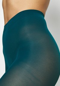 Lindex - 50 DEN RECYCLED 3D - Tights - dark dusty turquoise - 2