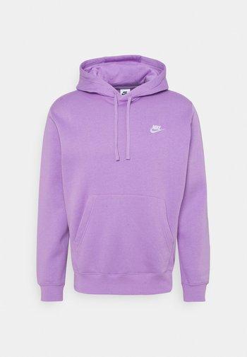 CLUB HOODIE - Felpa con cappuccio - violet star/white