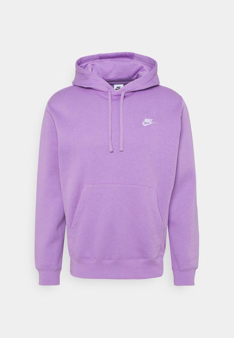 Nike Sportswear - CLUB HOODIE - Hoodie - violet star/white