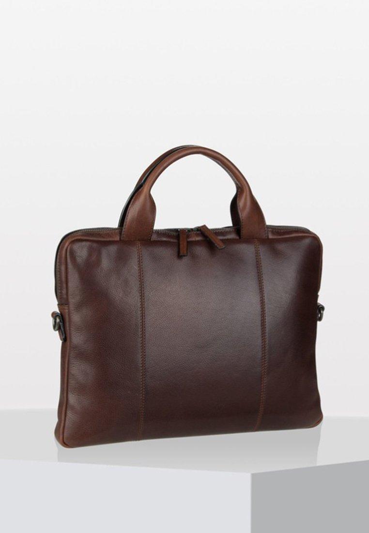 Leonhard Heyden - ROMA - Briefcase - brown