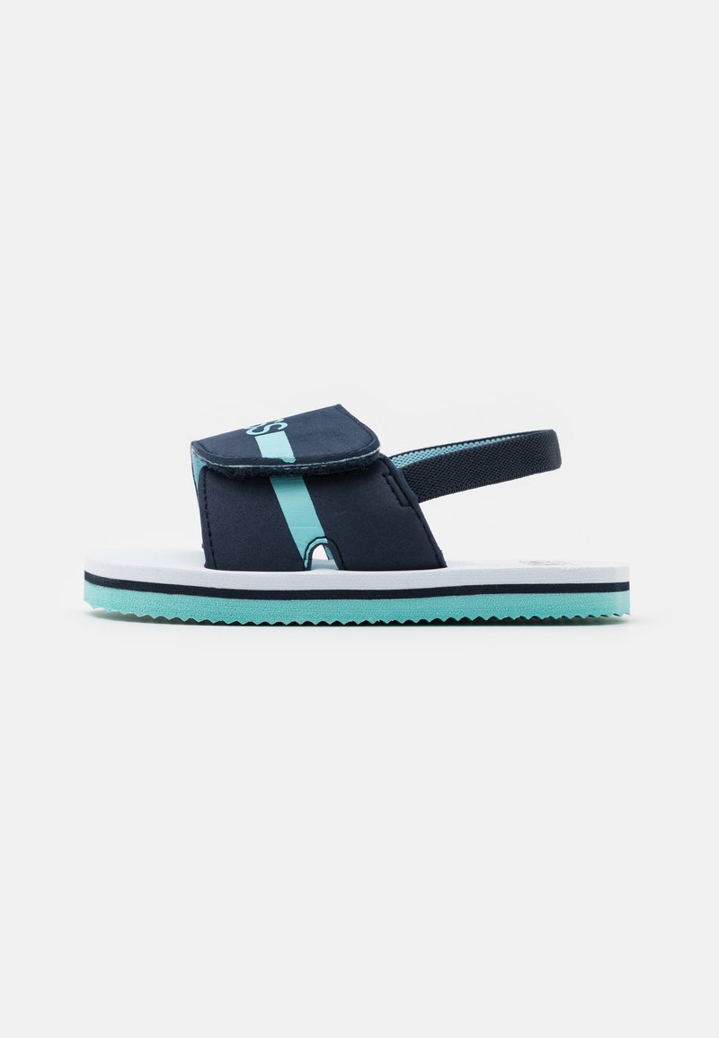 BOSS Kidswear - LIGHT  - Sandals - navy