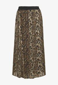 Culture - CUEVELY SKIRT - Maxi skirt - black - 2