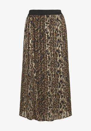 CUEVELY SKIRT - Maxi skirt - black