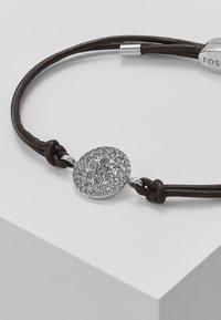 Fossil - Armbånd - silver-coloured/braun - 4