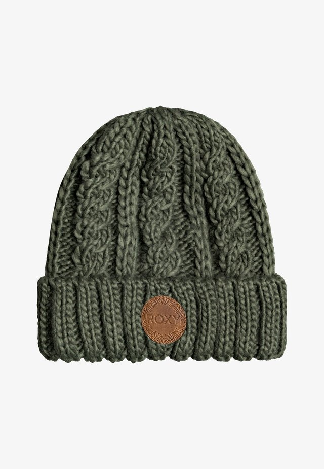TRAM  - Bonnet - bronze green
