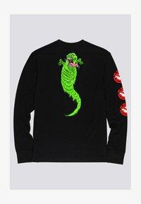 Element - Ghostbusters Goop - Longsleeve  - Print T-shirt - flint black - 0