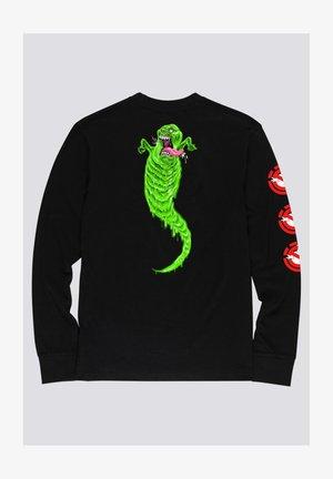 Ghostbusters Goop - Longsleeve  - Print T-shirt - flint black