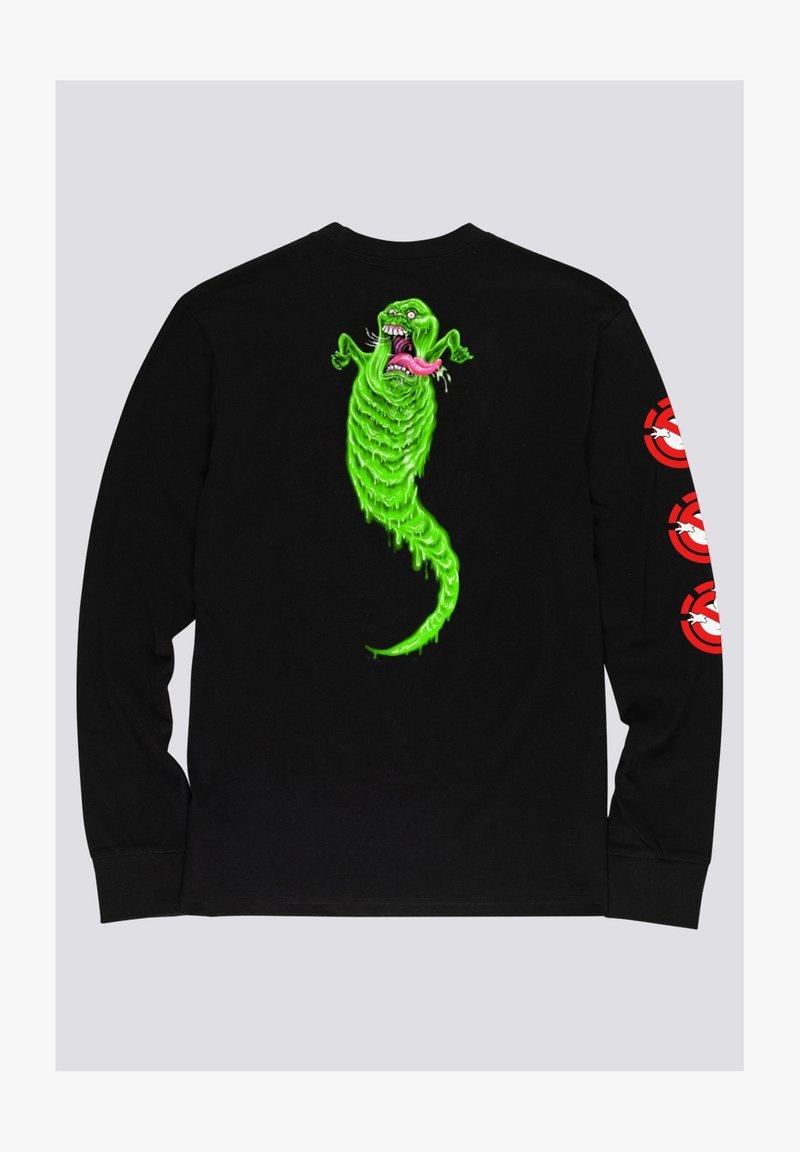 Element - Ghostbusters Goop - Longsleeve  - Print T-shirt - flint black