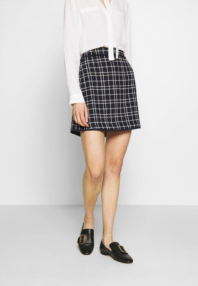 MAROCCO - A-line skirt - midnightblue