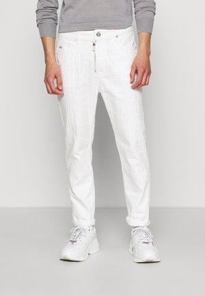 5 POCKETS PANT - Pantalon classique - bianco