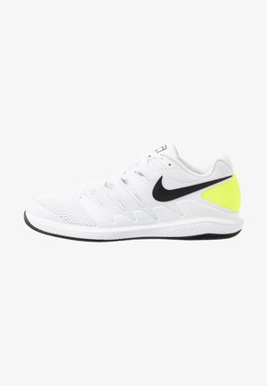 AIR ZOOM VAPOR X - Multicourt tennis shoes - white/black/volt