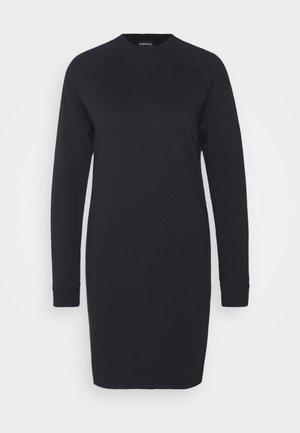 BASIC - Sweat mini dress - Robe d'été - black