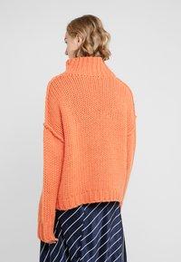 HUGO - STELLY - Stickad tröja - bright orange - 2