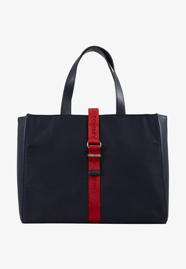 MODERN TWIST TOTE - Shoppingväska - blue