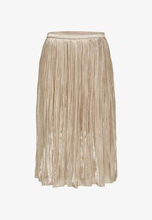 PLISSEE - A-line skirt - humus