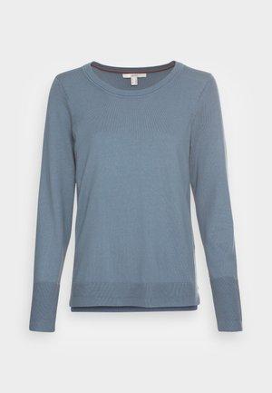 SWEATERS CREW NECK - Jumper - grey blue